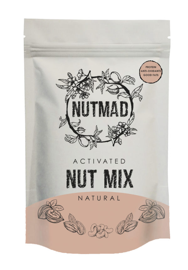 70g Nutmix Natural front